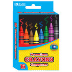 COLORED CRAYONS 16 COUNT 2517