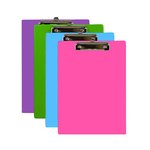 BRIGHT COLORED CLIP BOARDS 1829