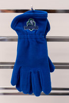 S&T FLEECE GLOVES ROYAL SIZE: S/M