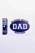 """ACM """"DAD"""" OUTSIDE OVAL DECAL 3"""" x 5"""""""