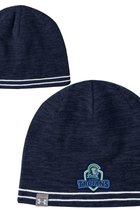 UNDER ARMOUR REVERS BILLBOARD BEANIE - NAVY